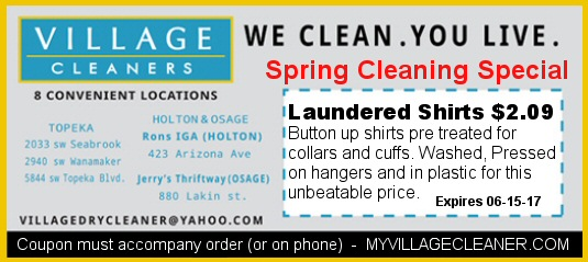 Spring Cleaning - Laundered Shirts